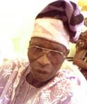 Chief Ezekiel Keyede  Otun Apomu-Owu