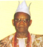 Chief Adisa Oyediran Oyega of Owu