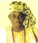 Chief E. Adewole Oshomoji  Seriki Erunmu
