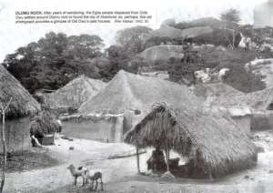 Olumo Rock, Abeokuta, in the 19th century